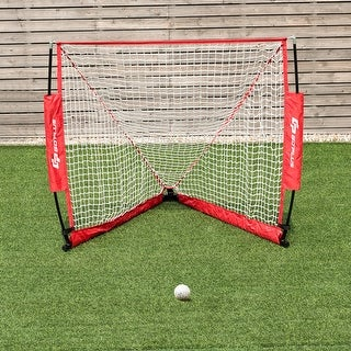 Link to 4' Portable Lacrosse Goal Net for Backyard Shooting In/Outdoor Use w/ Similar Items in Team Sports Equipment