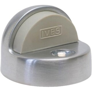 Schlage 438-PA28 Dome Floor Doorstop, Aluminum