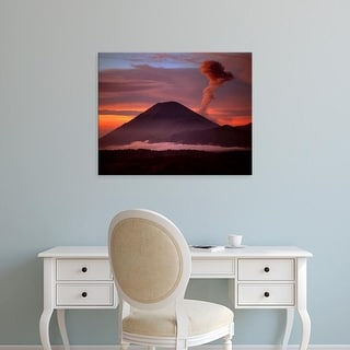 Easy Art Prints Jaynes Gallery's 'Volcano' Premium Canvas Art