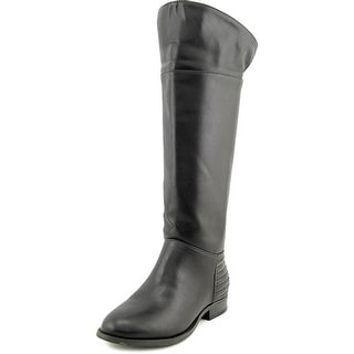 Chinese Laundry First Love Women Round Toe Synthetic Black Knee High Boot