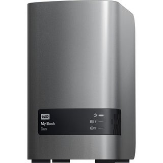 WD WDBLWE0040JCH-NESN WD My Book Duo WDBLWE0040JCH-NESN DAS Array - 2 x HDD Supported - 4 TB Installed HDD Capacity - 2 x Total