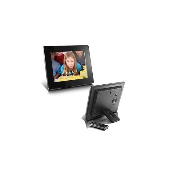 Aluratek Inc Admpf108f 8 Inch Digital Photo Frame With 4gb Built In
