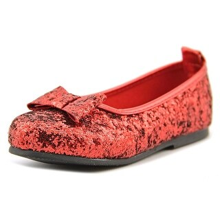 The Wizard of Oz Dorthy Youth Round Toe Synthetic Red Flats