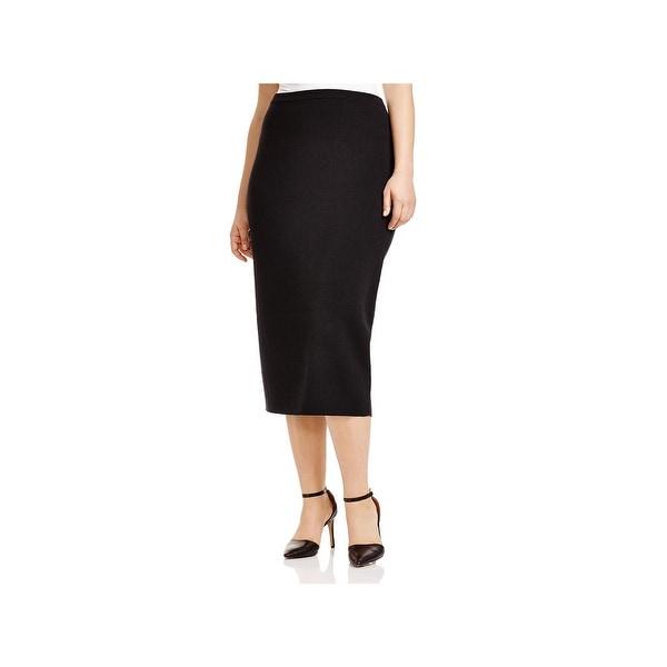 6058bfdd9577 Shop Eileen Fisher Womens Straight Skirt Wool Stretch - Free ...