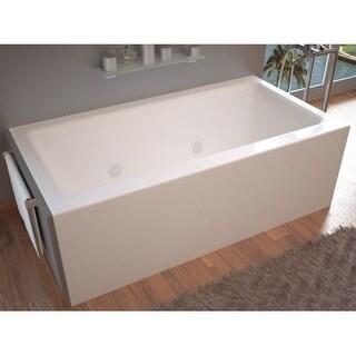"Avano AV3060SHWL Sahara 60"" Acrylic Whirlpool Bathtub for Alcove Installations with Left Drain"