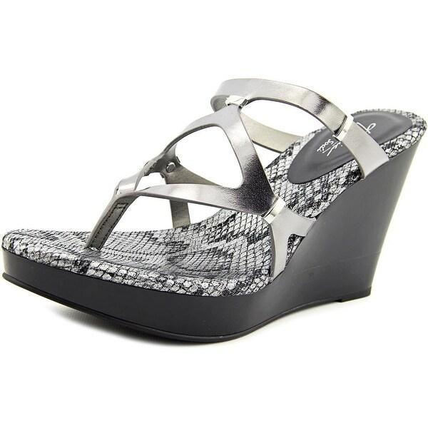 Thalia Sodi Luz Pewter Sandals