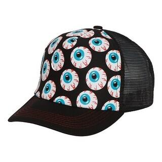 Eyeballs Red Eye Hollywood Trucker Mesh Hat
