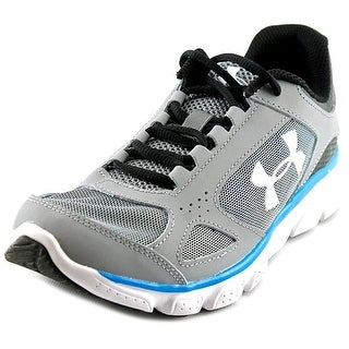 Under Armour Micro G Assert V Youth Round Toe Synthetic Gray Trail Running