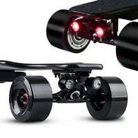 KooWheel Safe Lights Headlights and Taillights - Electric Skateboards Longboards