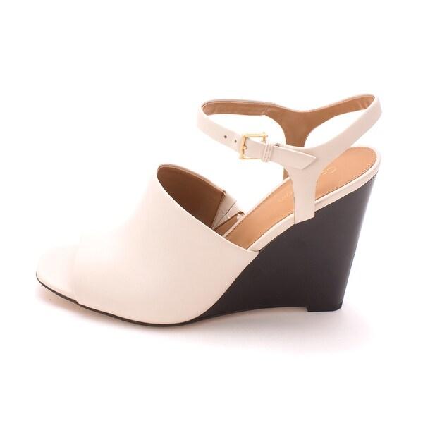 Calvin Klein Womens PIRRA Open Toe Casual Platform Sandals