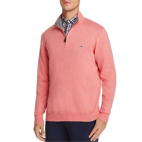 Vineyard Vines Mens Ls Pullover Sweater