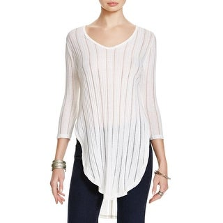 Free People Womens Astoria Tunic Top Open Sides Open Back
