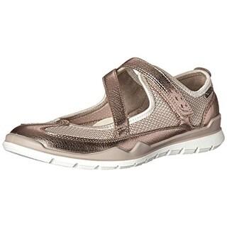 ECCO Womens Lynx Mesh Leather Trim Fashion Sneakers - 8-8.5 medium (b,m)
