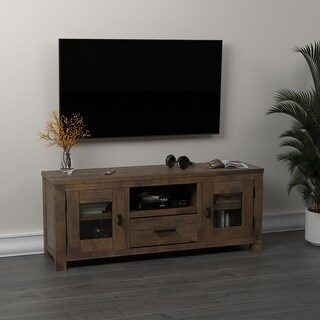 Link to Carbon Loft Dalai Rustic Golden Brown 2-door TV Console Similar Items in TV Stands & Entertainment Centers