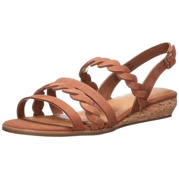 G.H. Bass & Co. NEW Brown Women's Shoes Size 6.5M Jolie Sandal