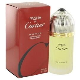 PASHA DE CARTIER by Cartier Eau De Toilette Spray 3.3 oz - Men