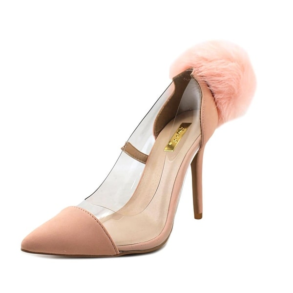 Qupid Millia-59X Blush Pumps