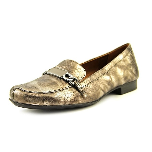Naturalizer Radka W Round Toe Synthetic Loafer