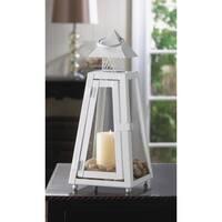 White Coastal Lantern Small