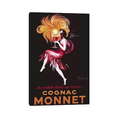 """iCanvas """"Cognac Monnet (Vintage)"""" by Leonetto Cappiello Canvas Print"""