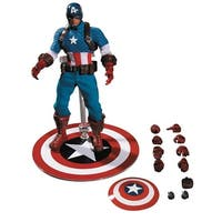 """Marvel One:12 Collective 6.5"""" Action Figure: Captain America - multi"""