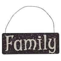 Family Glitter Ornament
