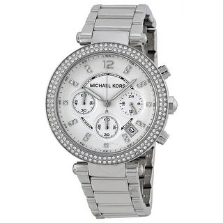 Link to Parker Chronograph Silver Dial Ladies MK5353 Watch - One Size Similar Items in Women's Watches