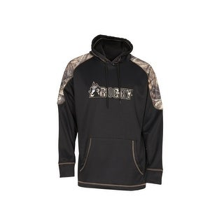 Rocky Outdoor Sweatshirt Boys Hoodie Logo Fleece Black Camo