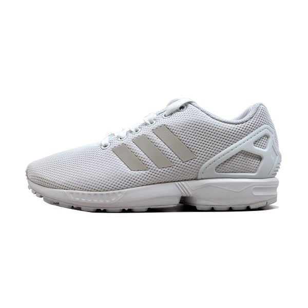 55890571bb65f Shop Adidas Men s ZX Flux White White S79093 Size 6 - Free Shipping ...