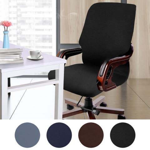 Waterproof Office Chair Cover Roating Computer Armchair Protector