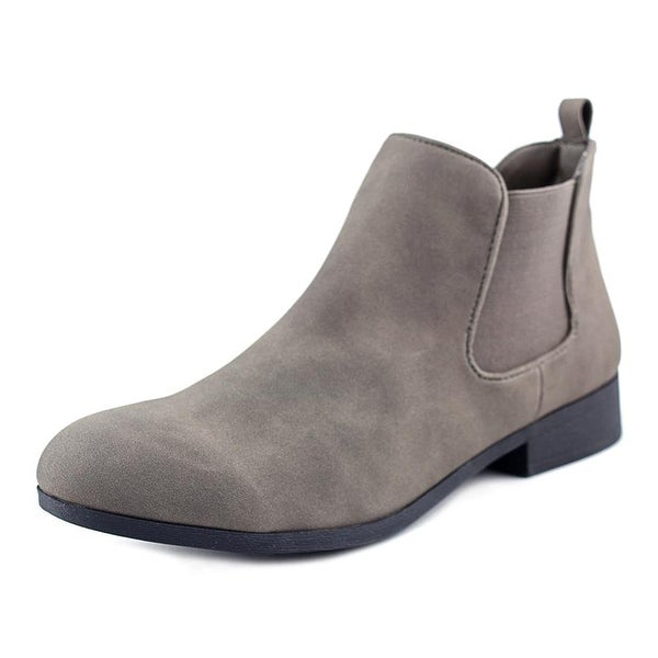 American Rag Womens Desyre Closed Toe Ankle Chelsea Boots, Charcoal, Size 6.0