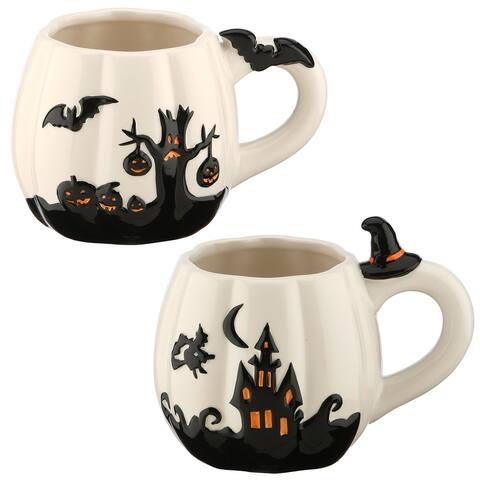 Halloween Themed Coffee Mugs