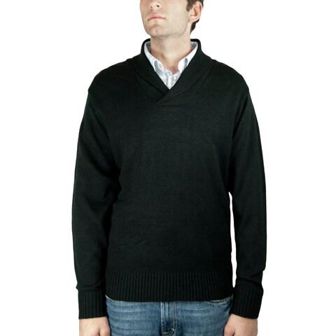Men's Shawl-Collar Sweater (SW-689)