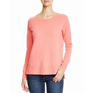 Aqua Womens Pullover Sweater Cashmere Knit