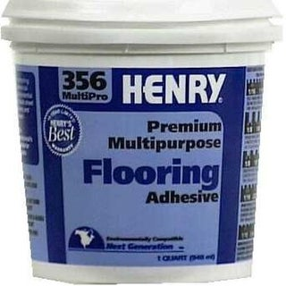 Henry 356-040 Multi-Purpose Floor Covering Adhesive, Gallon