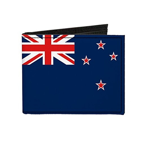 Buckle-Down Canvas Bi-fold Wallet - New Zealand Flag Accessory