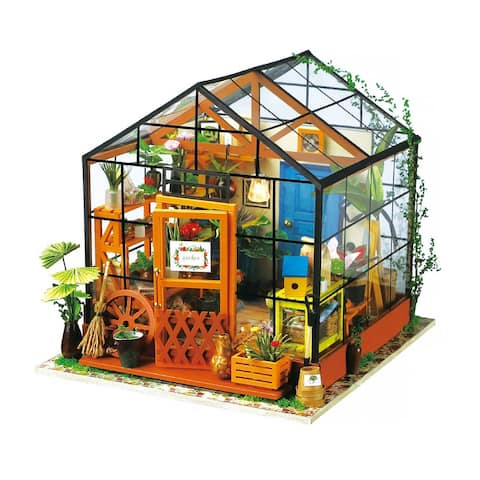 DG104 Rolife Cathy's Flower DIY Miniature House for Kids and Adults