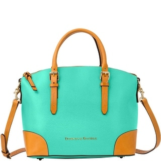 Dooney & Bourke Claremont Domed Satchel (Introduced by Dooney & Bourke at $298 in Dec 2014) - Sea Foam