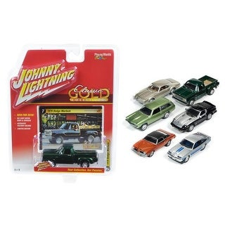 1 by 64 Diecast Classic Gold Release 2 Set B Model Cars, Set o