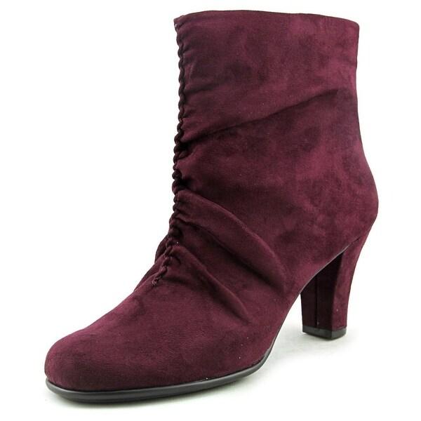 Aerosoles Good Role Women Wine Boots
