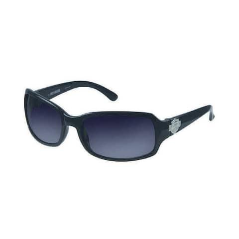 Harley-Davidson Womens Sun Lifestyle Grey w/ Grey Lens Sunglasses HDS5007GRY-35 - Gray - One Size