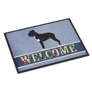 Carolines Treasures BB8345MAT Cane Corso Welcome Indoor or Outdoor Mat - 18 x 27 in.