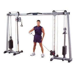 Body Solid Deluxe Cable Crossover - (2) 160 Lb Weight Stacks