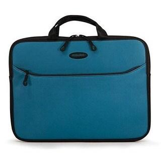 "Mobile Edge Messm9-13 Slipsuit Carrying Case F/ 13.3"" Macbook - Teal, Black"