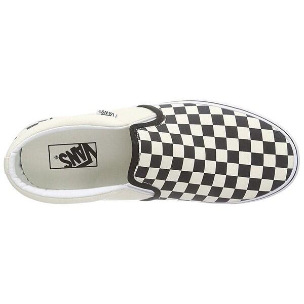 Vans Mens Asher (Checkers) Shoes Black
