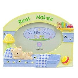 Bear Naked 4x6 Oval Picture Frame