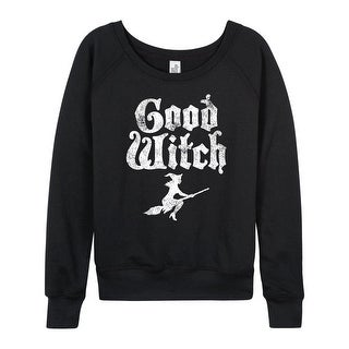 Good Witch - Ladies Lightweight French Terry Pullover