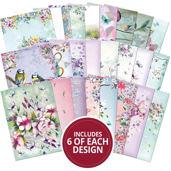 Hunkydory A6 Paper Pad 144/Pkg-The Little Book Of Shimmer