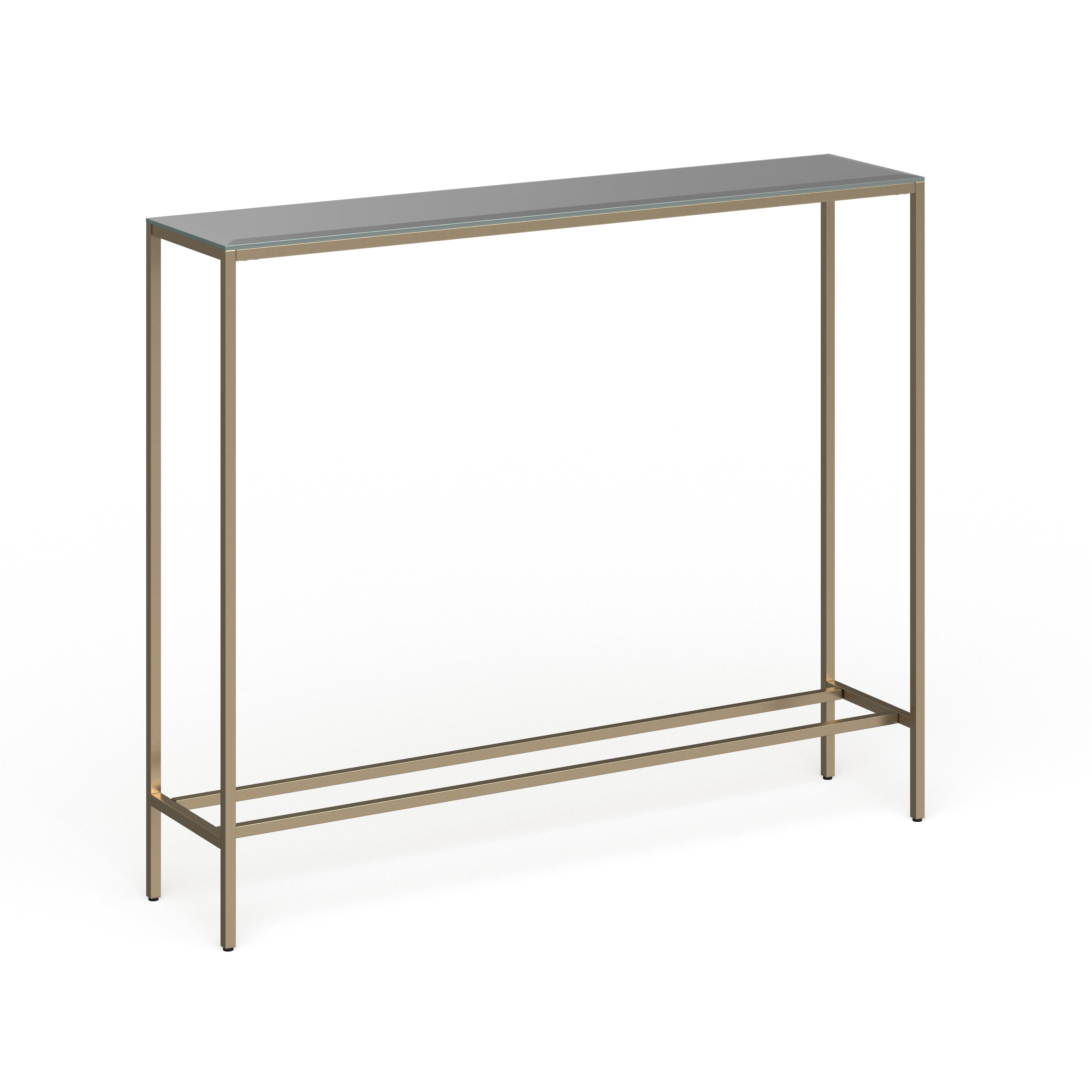 White Resin Folding Table, Shop Silver Orchid Ham Narrow Console Table Overstock 18157315 Black