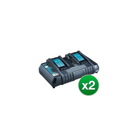 Charger for Makita DC18RD (2-Pack) Replacement Charger
